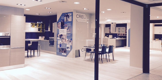 Creo Kitchens inaugurates its first store of 2015 - Creo Kitchens