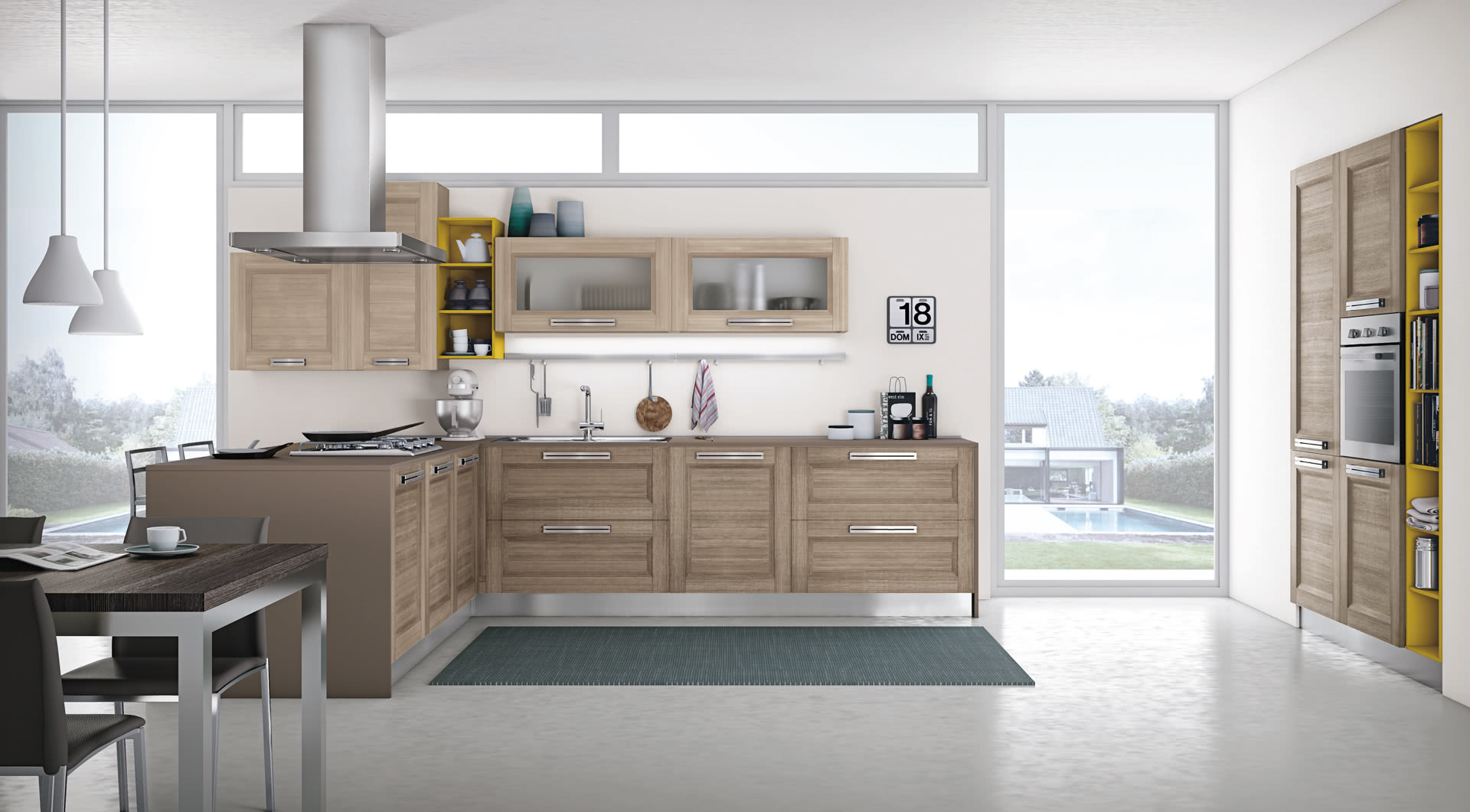 Cucina Mya - Cucine Moderne - Creo Kitchens