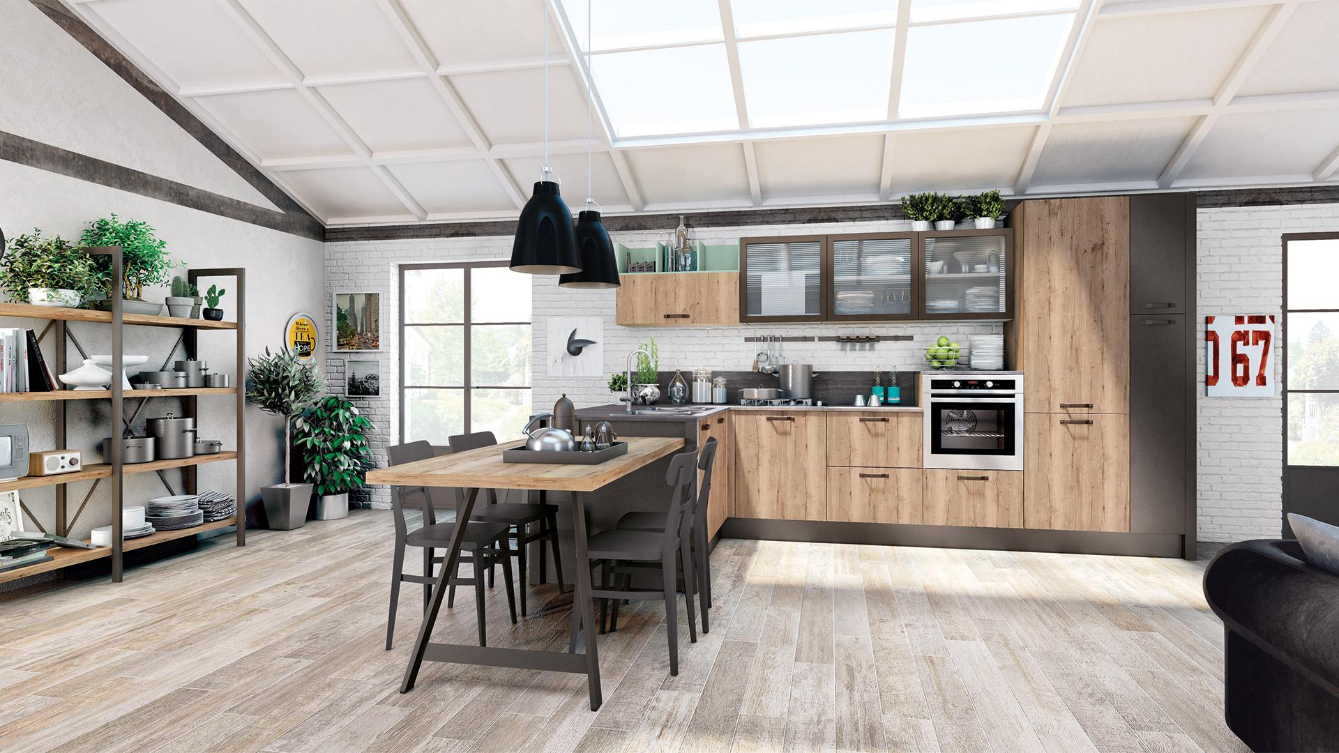 Cucina kyra cucine moderne creo kitchens