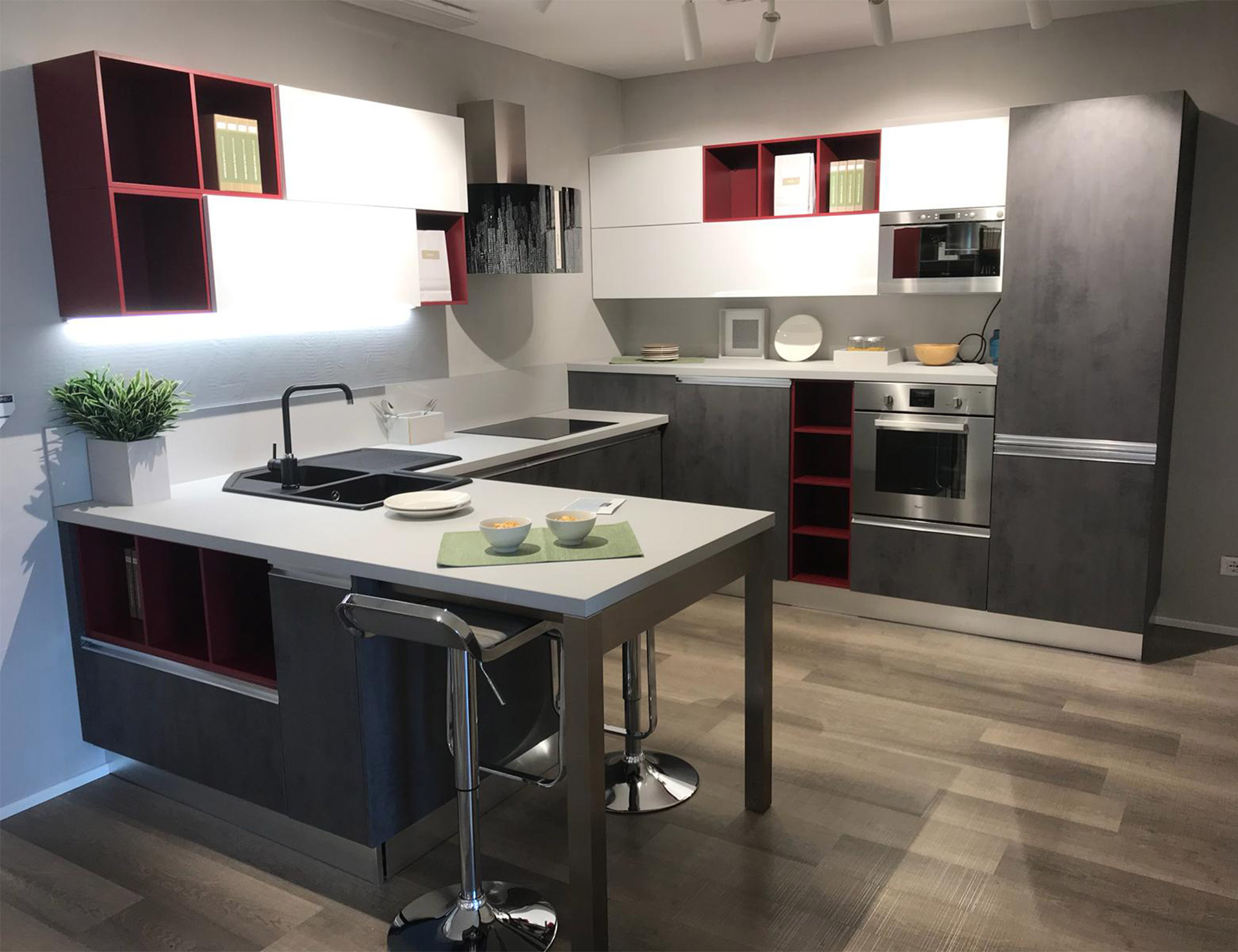 Il Gruppo Lube Inaugura Un Nuovo Store Creo A Collegno Creo Kitchens