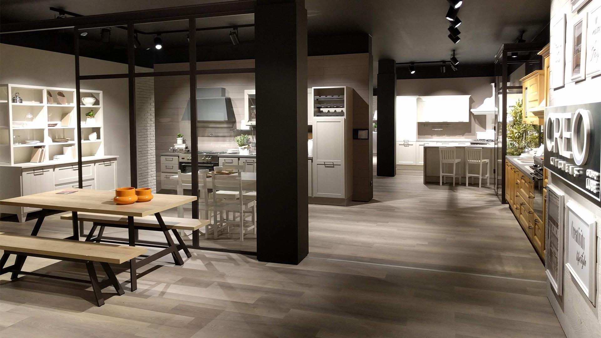 Il Gruppo Lube Inaugura Un Nuovo Store Lube E Creo A Montecchio Maggiore Creo Kitchens