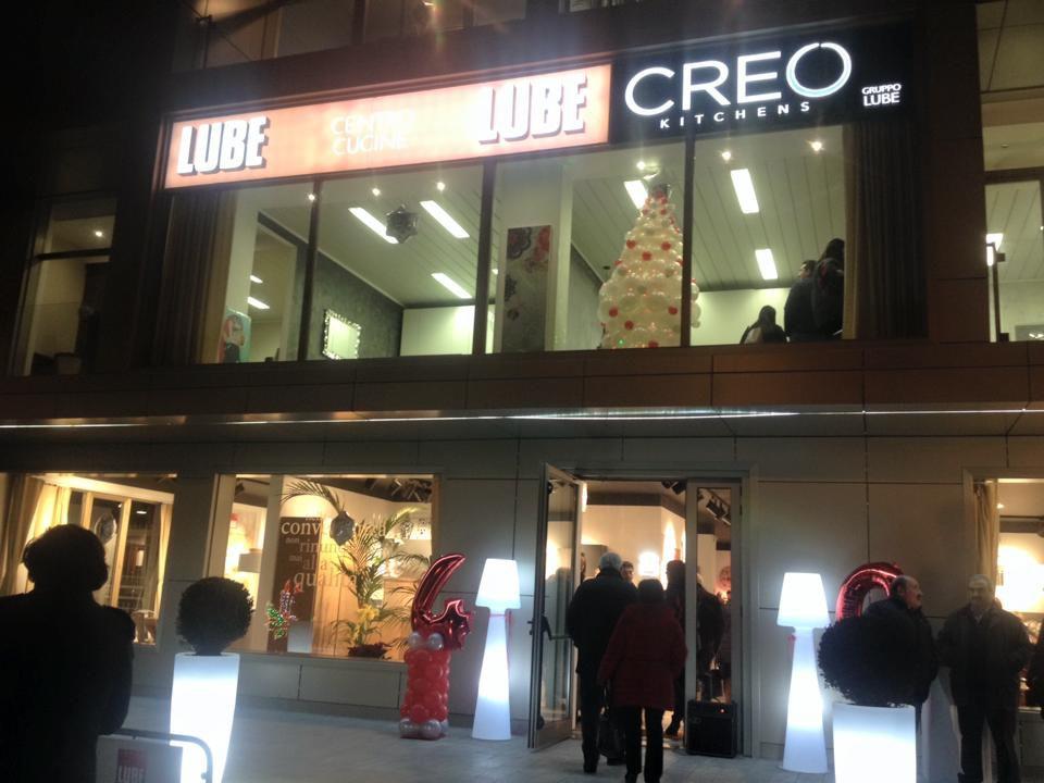 Gruppo Lube inaugura a Polla un nuovo centro Cucine Lube e Creo ...