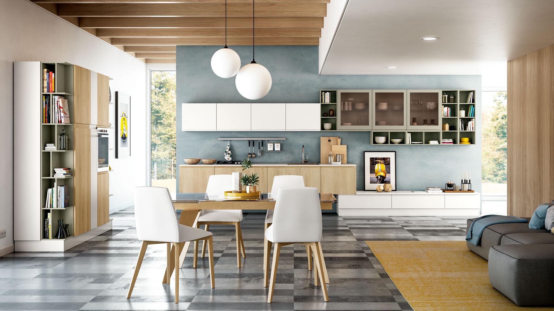 Ricambi Cucine Componibili.Cucine Moderne Classiche E Componibili Creo Cucine Creo