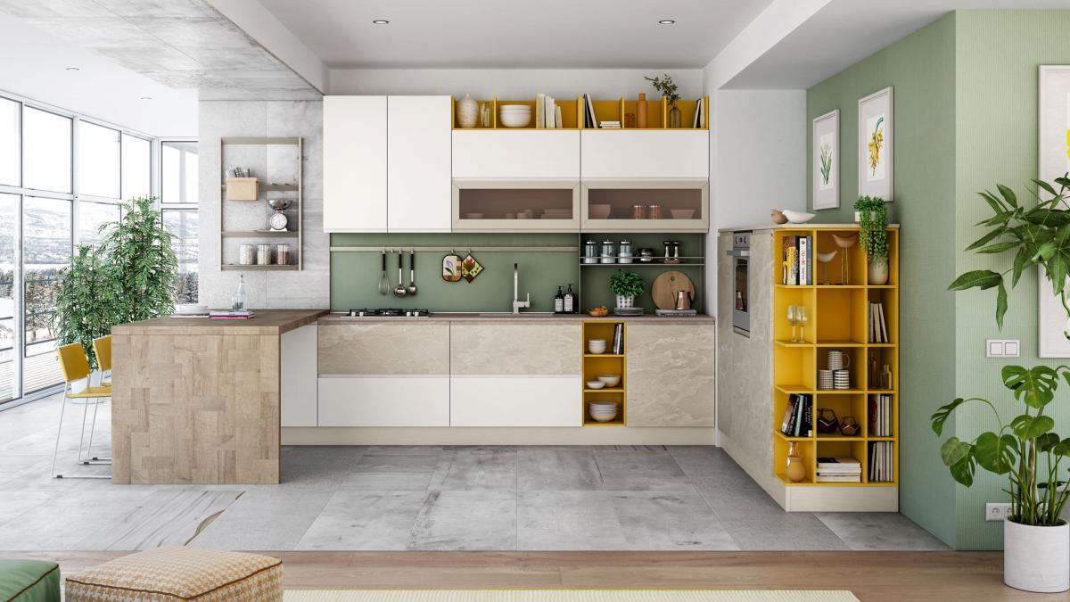 Cucina Kyra Creo Prezzo cucine creo moderne - mondo cucina - scegli la cucina dei